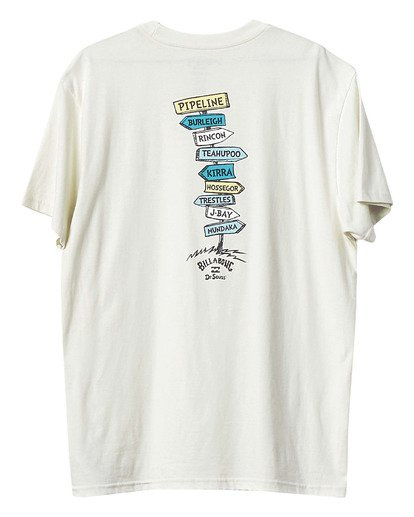 1 Dr Seuss From Here To There - T-Shirt for Boys White U2SS30BIF0 Billabong