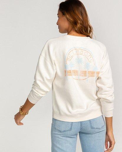 3 Souvenir - Sweatshirt für Frauen Beige U3CR08BIF0 Billabong