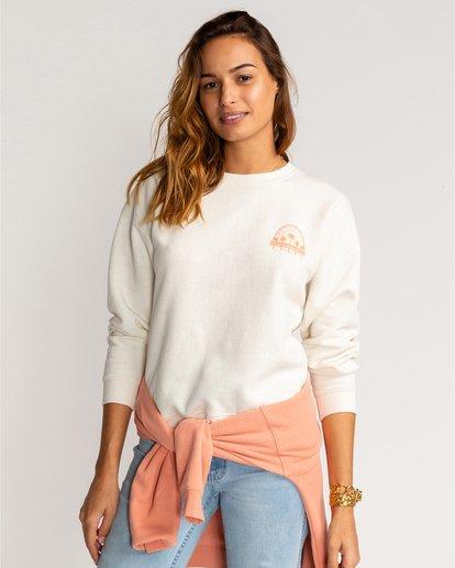 1 Souvenir - Sweatshirt für Frauen Beige U3CR08BIF0 Billabong