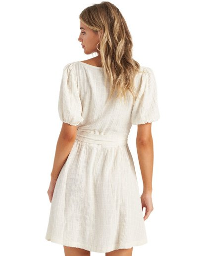 5 Sundown - Mini vestido de manga corta para Mujer Blanco U3DR01BIMU Billabong