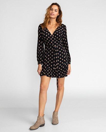 3 Good Feeling - Kleid für Frauen Schwarz U3DR09BIF0 Billabong