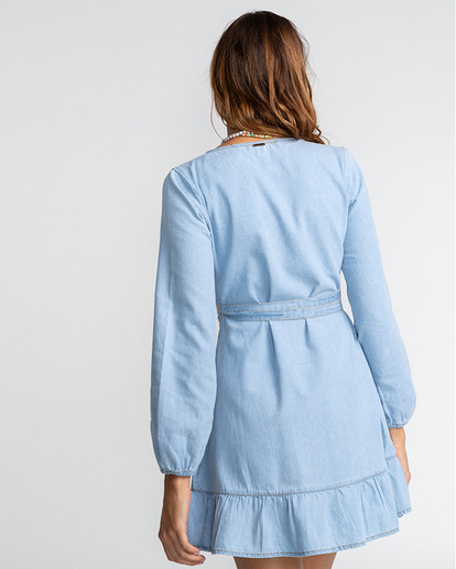 4 Good Feeling - Vestido para Mujer Azul U3DR09BIF0 Billabong