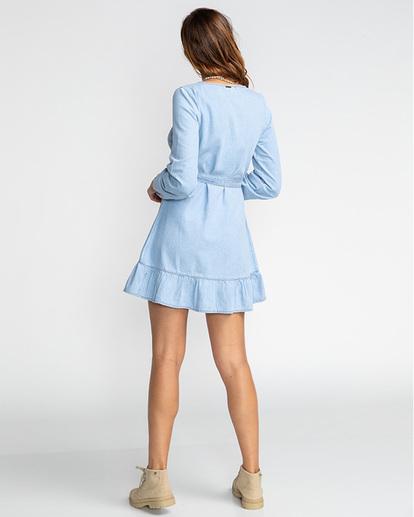 5 Good Feeling - Vestido para Mujer Azul U3DR09BIF0 Billabong