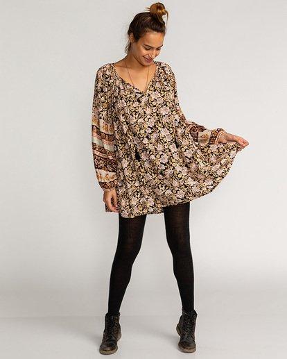 1 Gypset - Vestido para Mujer Negro U3DR12BIF0 Billabong