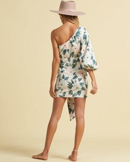 3 Salty Blonde Sunkissed - Mini Wrap Dress for Women Multicolor U3DR30BIF0 Billabong