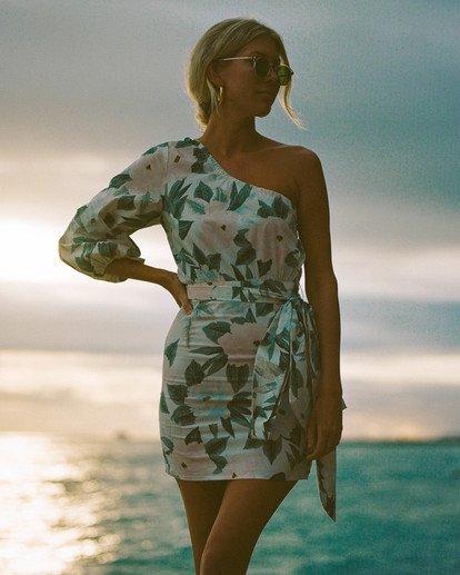 4 Salty Blonde Sunkissed - Mini Wrap Dress for Women Multicolor U3DR30BIF0 Billabong