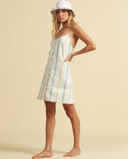 1 Salty Blonde Sunny Stripes - Slip Dress for Women Multicolor U3DR31BIF0 Billabong