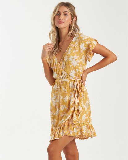 1 Sweet Sessions Wrap And Roll - Vestido para Mujer  U3DR40BIMU Billabong