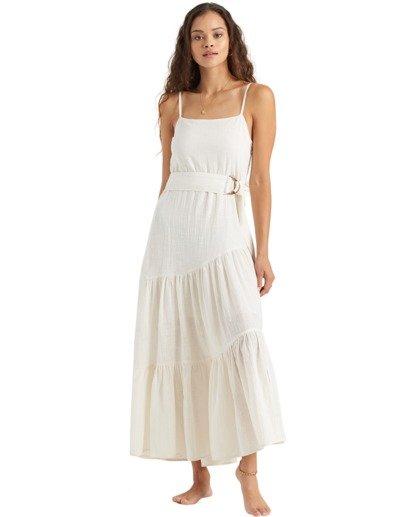 1 Fade To White Island Spirit - Vestido para Mujer Blanco U3DR41BIMU Billabong