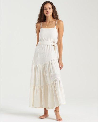 0 Fade To White Island Spirit - Vestido para Mujer Blanco U3DR41BIMU Billabong