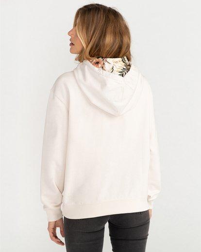 5 Louna - Sudadera con capucha para Mujer Blanco U3FL12BIF0 Billabong