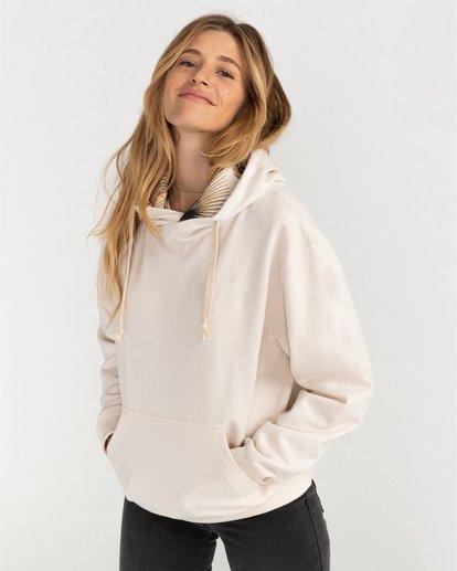 0 Louna - Sudadera con capucha para Mujer Blanco U3FL12BIF0 Billabong