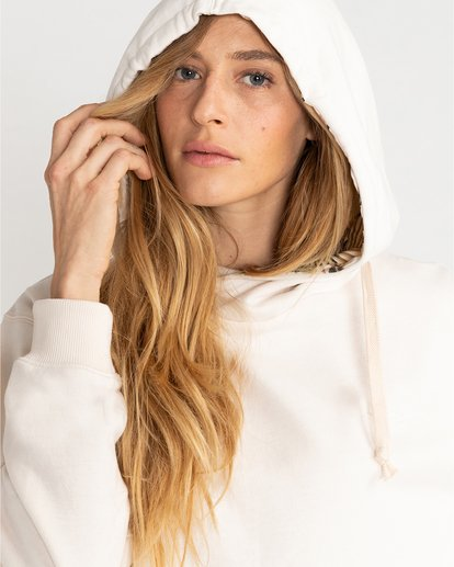 2 Louna - Sudadera con capucha para Mujer Blanco U3FL12BIF0 Billabong