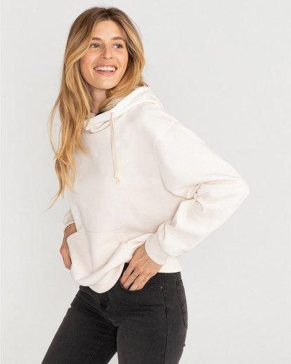 3 Louna - Sudadera con capucha para Mujer Blanco U3FL12BIF0 Billabong