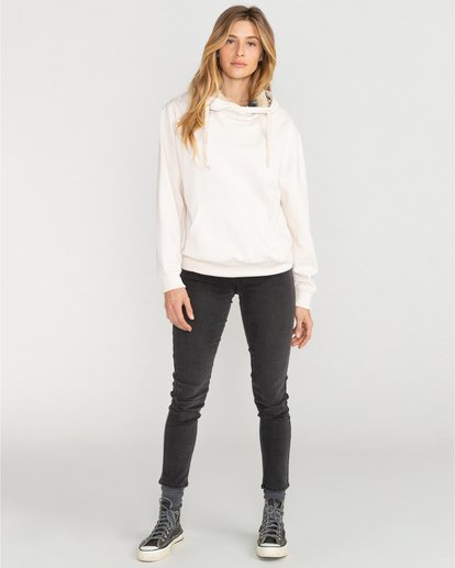 4 Louna - Sudadera con capucha para Mujer Blanco U3FL12BIF0 Billabong
