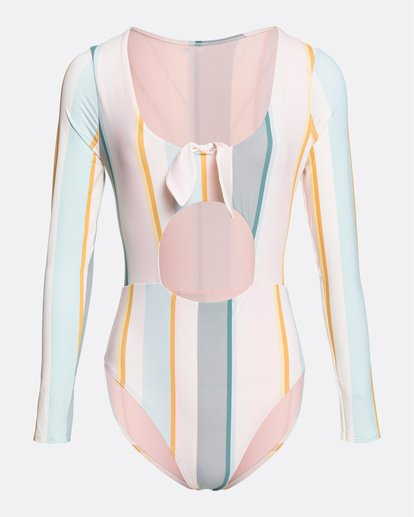 5 Salty Blonde Feelin Salty - Long Sleeve One-Piece Swimsuit for Women Multicolor U3GY30BIF0 Billabong