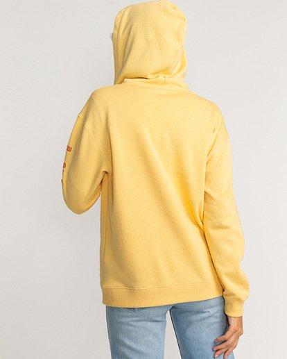 2 Stocked - Hoodie for Women Yellow U3HO15BIF0 Billabong