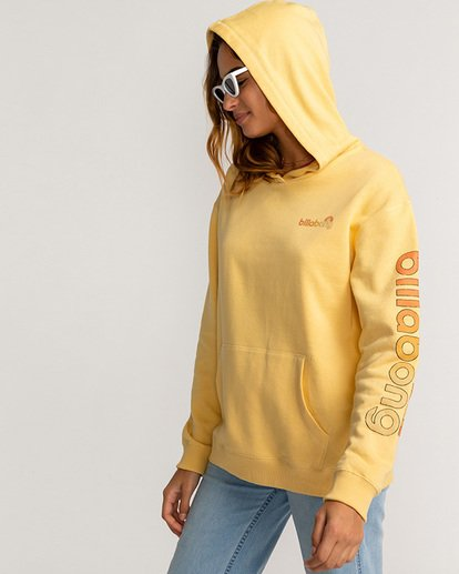 1 Stocked - Hoodie for Women Yellow U3HO15BIF0 Billabong
