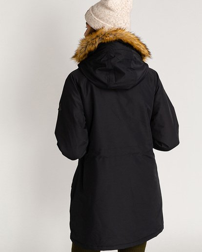 3 Adventure Division Collection Colder Weather - Chaqueta impermeable 10K para Mujer Negro U3JK12BIF0 Billabong