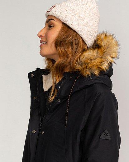1 Adventure Division Collection Colder Weather - Chaqueta impermeable 10K para Mujer Negro U3JK12BIF0 Billabong