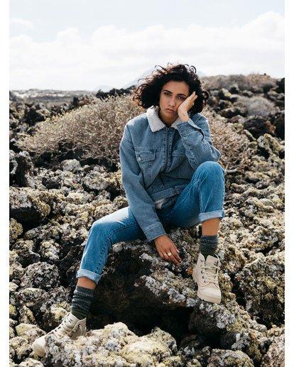 0 Lovely - Veste en velours côtelé pour Femme Bleu U3JK18BIF0 Billabong