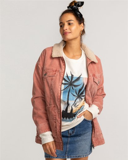 Lovely - Corduroy Jacket for Women  U3JK18BIF0
