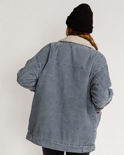 2 Lovely - Veste en velours côtelé pour Femme Bleu U3JK18BIF0 Billabong