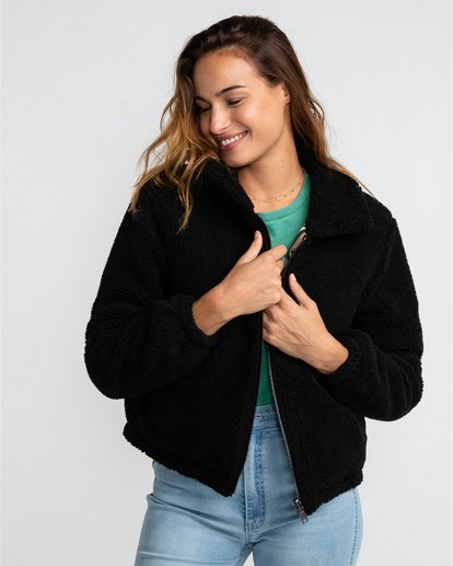 1 Hit The Road - Chaqueta reversible para Mujer Negro U3JK20BIF0 Billabong