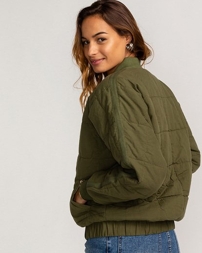 2 Storm - Jacke für Frauen Grün U3JK22BIF0 Billabong