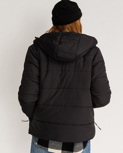 2 Adventure Division Collection Transport Puffer 2 - Chaqueta Acolchada para Mujer Negro U3JK24BIF0 Billabong