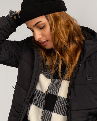1 Adventure Division Collection Transport Puffer 2 - Chaqueta Acolchada para Mujer Negro U3JK24BIF0 Billabong