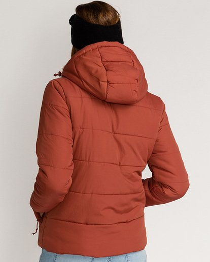 3 Adventure Division Collection Transport Puffer 2 - Chaqueta Acolchada para Mujer  U3JK24BIF0 Billabong