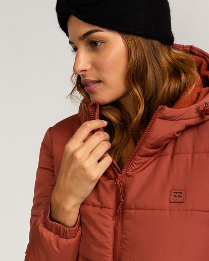 2 Adventure Division Collection Transport Puffer 2 - Chaqueta Acolchada para Mujer  U3JK24BIF0 Billabong