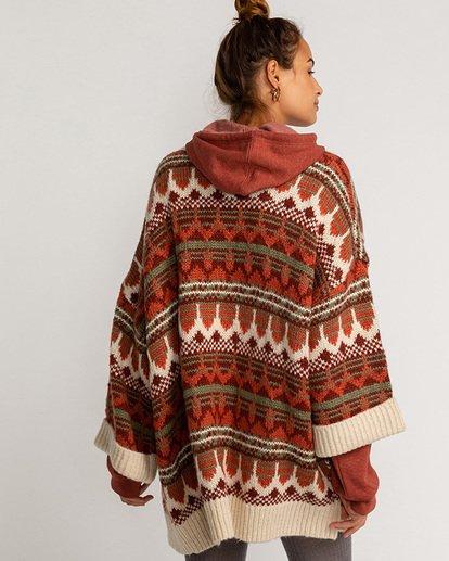 1 Wintersounds - Pullover für Frauen Grün U3JP14BIF0 Billabong