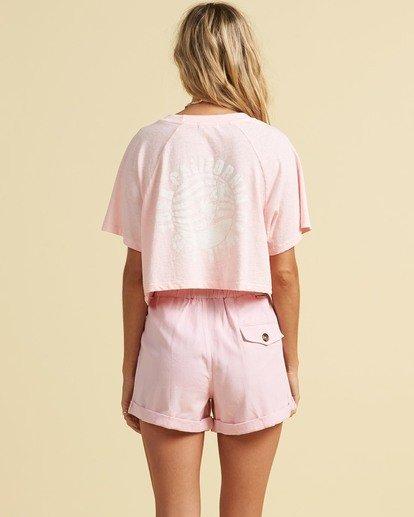 3 Salty Blonde Just Beachin - High Neck Top for Women Pink U3KT30BIF0 Billabong