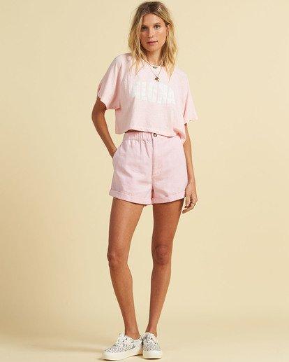 4 Salty Blonde Just Beachin - High Neck Top for Women Pink U3KT30BIF0 Billabong