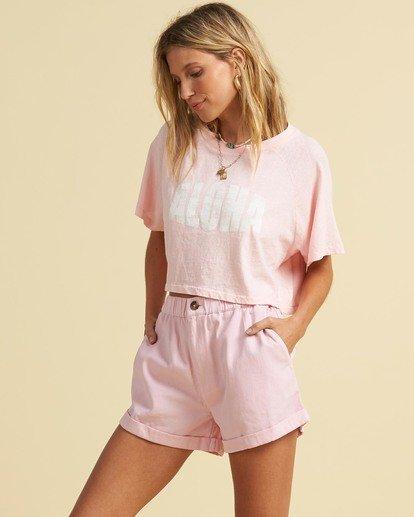 2 Salty Blonde Just Beachin - High Neck Top for Women Pink U3KT30BIF0 Billabong