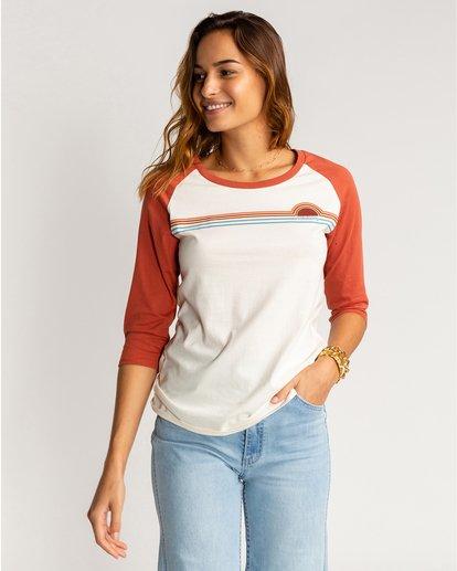 0 Eye Sea Sky - Camiseta para Mujer Marron U3LS09BIF0 Billabong