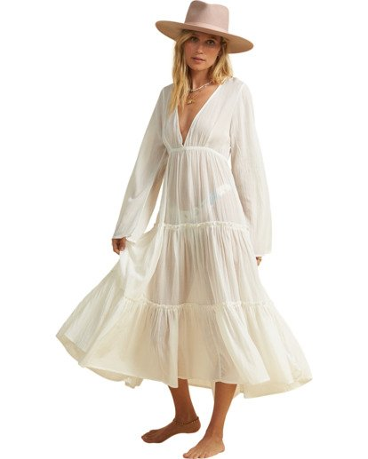 1 Salty Blonde Wander Lust  - Beach Dress for Women Beige U3OS30BIF0 Billabong