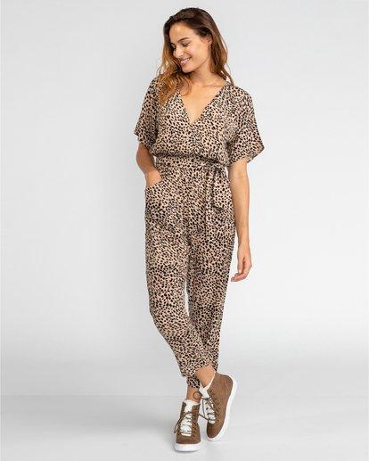 1 High Flyer - Pantalón con elástico para Mujer Multicolor U3PT08BIF0 Billabong