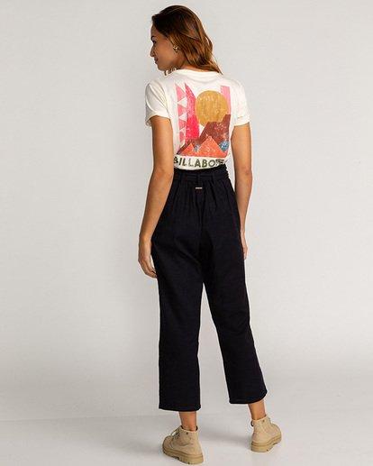 1 Sand Stand - Pantalón de talle alto para Mujer Negro U3PT09BIF0 Billabong