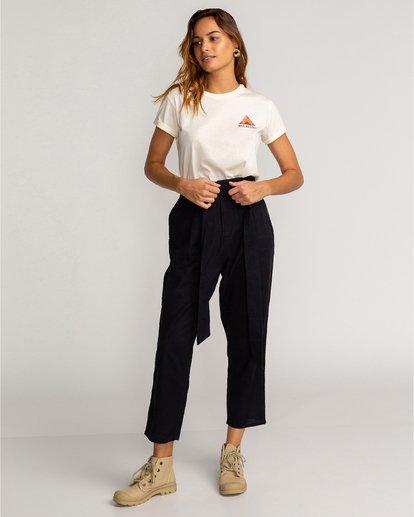 0 Sand Stand - Pantalón de talle alto para Mujer Negro U3PT09BIF0 Billabong