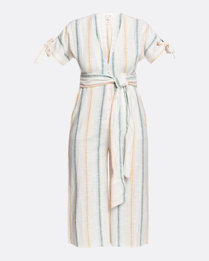 5 Salty Blonde Dream Weaver - Short Sleeve Jumpsuit for Women Multicolor U3PT30BIF0 Billabong