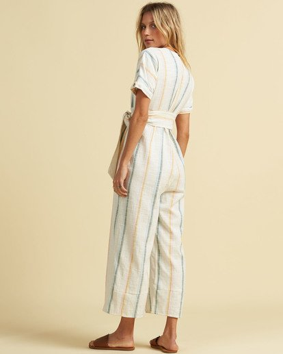 2 Salty Blonde Dream Weaver - Short Sleeve Jumpsuit for Women Multicolor U3PT30BIF0 Billabong