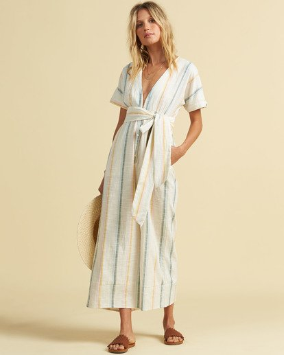 Salty Blonde Dream Weaver - Short Sleeve Jumpsuit for Women  U3PT30BIF0
