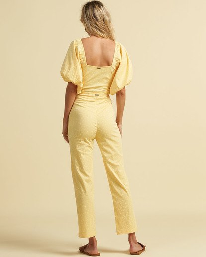 3 Salty Blonde Moonlight - Trousers for Women Yellow U3PT31BIF0 Billabong