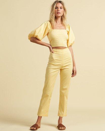 1 Salty Blonde Moonlight - Trousers for Women Yellow U3PT31BIF0 Billabong