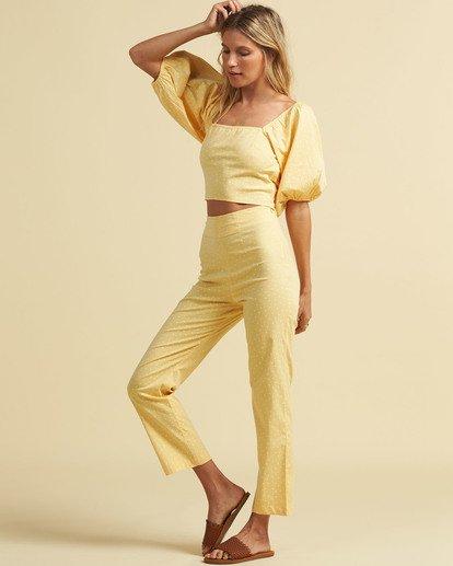 2 Salty Blonde Moonlight - Trousers for Women Yellow U3PT31BIF0 Billabong