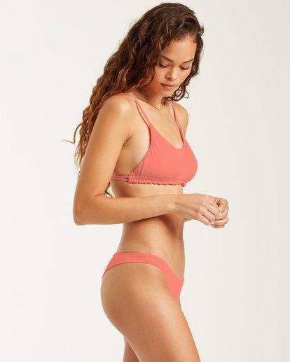 3 Sol Searcher Tanga - Braguita de bikini para Mujer Rosa U3SB15BIF0 Billabong