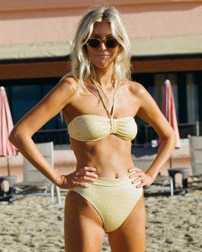 Salty Blonde Sundipped Rise - Bikini Bottoms for Women  U3SB30BIF0